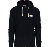 Boiled Jacket Stripes genser fra Amundsen Sports til herre i fargen navy. Produktbilde viser jakken/genseren sett forfra