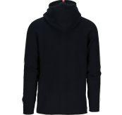 Boiled Jacket Stripes genser fra Amundsen Sports til herre i fargen navy. Produktbilde viser jakken/genseren sett bakfra