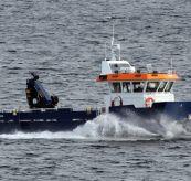 Servicebåt på sjøen