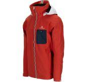Drifter Jacket fra Amundsen Sports til herre i fargen red clay. Bildet viser jakken sett skrått forfra