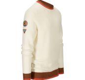 Drifter Sweater til herre fra Amundsen Sports i fargen oatmeal. Produktbildet viser genseren sett skrått forfra