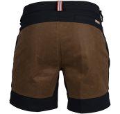 7 Incher fIeld shorts til herre fra Amundsen Sports i fargen faded navy/tan. Bildet viser shortsen sett bakfra