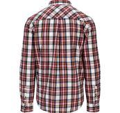 Skauen Field Shirt fra Amundsen Sports i fargen Chequered White til herre. Produktbildet viser skjorten sett bakfra