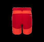 Womens Vipe Shorts i fargen Grenadine fra Tufte Wear. Produktbildet viser shortsen sett bakfra