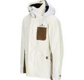 Deck Jacket fra Amundsen Sports til herre i fargen OffWhite. Produktbildet viser jakken sett skrått forfra