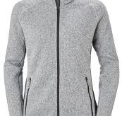Varde Fleece jakke fra Helly Hansen. Grå jakke til dame. Produktbilde