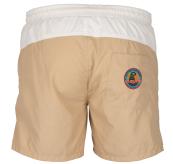 6 Incher Dipper shorts til herre fra amundsen sports i fargen offwhite/faded blue. produktbildet viser shortsen sett bakfra