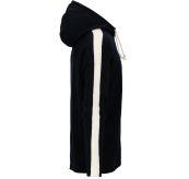 Boiled Jacket Stripes genser fra Amundsen Sports til herre i fargen navy. Produktbilde viser jakken/genseren sett fra siden