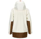 Deck Jacket fra Amundsen Sports til dame i fargen Offwhite. Produktbildet viser jakken sett fra baksiden
