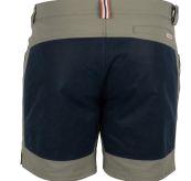7 Incher fIeld shorts til herre fra Amundsen Sports i fargen blue surf/navy. Bildet viser shortsen sett bakfra