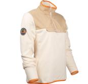 Roamer Fleece fra amundsen sports til dame i fargen desert. produktbildet viser genseren sett skrått forfra