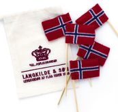 langkilde & Søn kakeflagg produktbilde