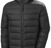 Svalbard Down Jacket fra Helly Hansen i fargen black. Produktbilde sett forfra