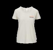 PRIDE tskjorte fra Tufte Wear til dame. Produktbildet viser tskjorten sett forfra