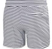 Thalia 2 Shorts fra Helly Hansen til dame i fargen navy stripe. Produktbilde av shortsen sett bakfra