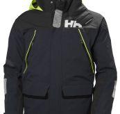 Skagen-jakken fra Helly Hansen til herre i fargen navy. Produktbildet viser jakken sett forfra