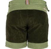 7 incher concord shorts fra amundsen sports til herre i fargen moss green/olive. produktbildet viser shortsen sett bakfra
