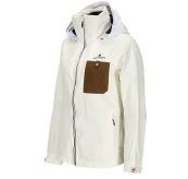 Drifter Jacket fra Amundsen Sports til dame i fargen offwhite. Bildet viser jakken sett skrått forfra