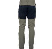 Field slacks fra amundsen sports til herre i fargen faded blue surf. produktbildet viser buksen sett bakfra