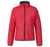 W Corsica Primaloft Jacket til dame fra Musto. Jakken er rød og produktbildet viser jakken forfra