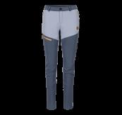 Womens Vipe Pants i fargen Eventide/Vintage Indigo/Blazing Orange fra Tufte Wear. Produktbildet viser buksen sett forfra