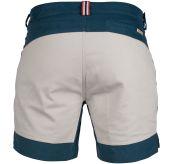 7 incher concord shorts fra amundsen sports til herre i fargen faded blue/natural. produktbildet viser shortsen sett bakfra