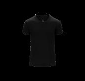 Mens v-neck t-shirt til herre fra Tufte Wear i fargen black beauty. Produktbildet viser tskjorten sett forfra