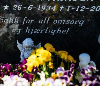 Sett nytt navn på gravsteinen