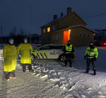 Stendi bidrar til Norges covid-19-testing på grensen