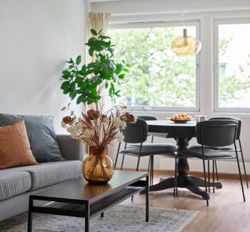 Standard 1- og 2-roms leilighet