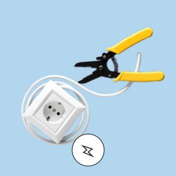 ikke utfør elektrisk arbeid selv