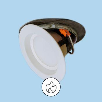 brannfarlige downlightds