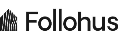 Follohus logo i svart