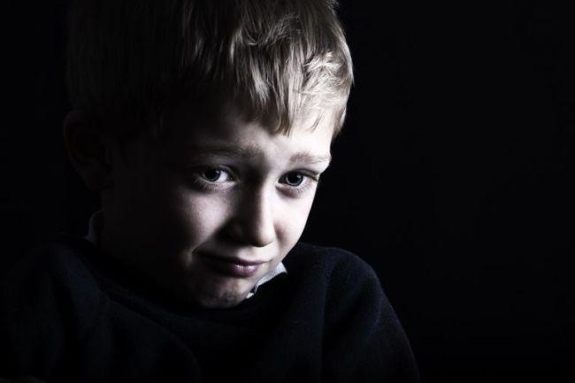 Barn som er lei seg