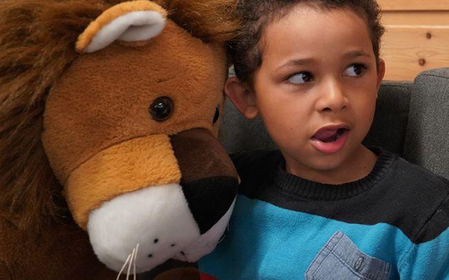 leo og ett barn
