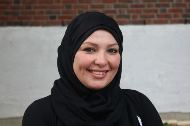 Portrettbilde av bydelsmor Iman Sayyah