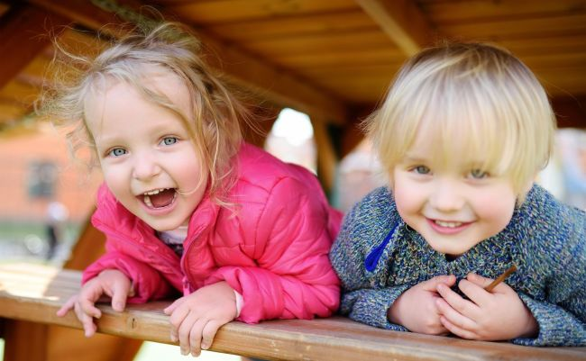 glade barn er sunne barn