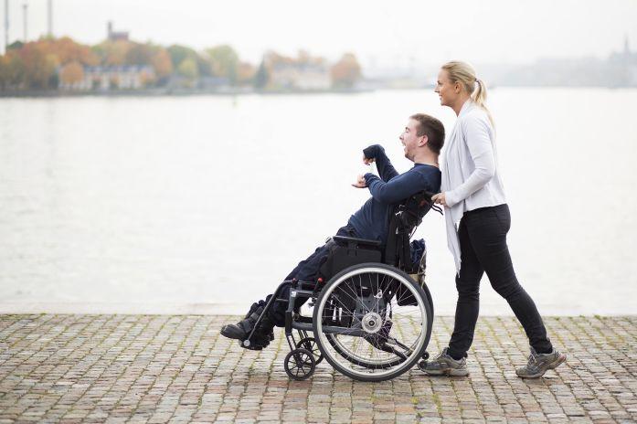 På tur med rullestol