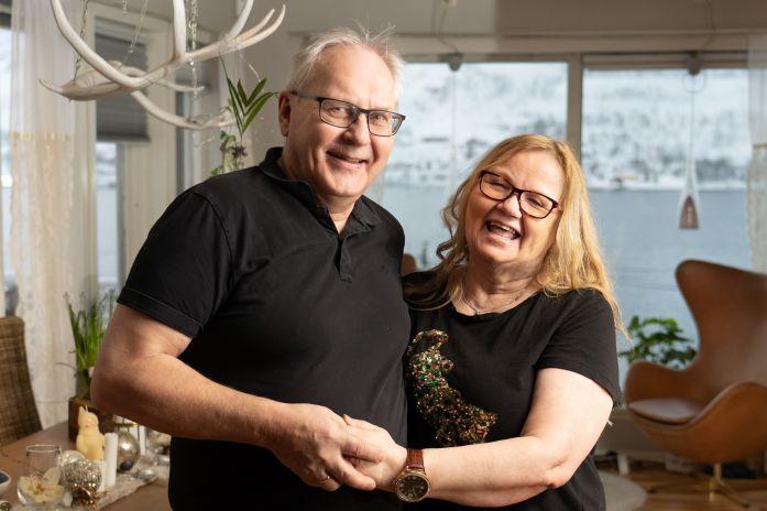 Rolf Erik og Ann Lisbeth har vært familiehjem i Stendi i 18 år