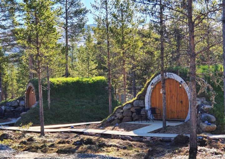 Eventyrhytte i Sjodalen