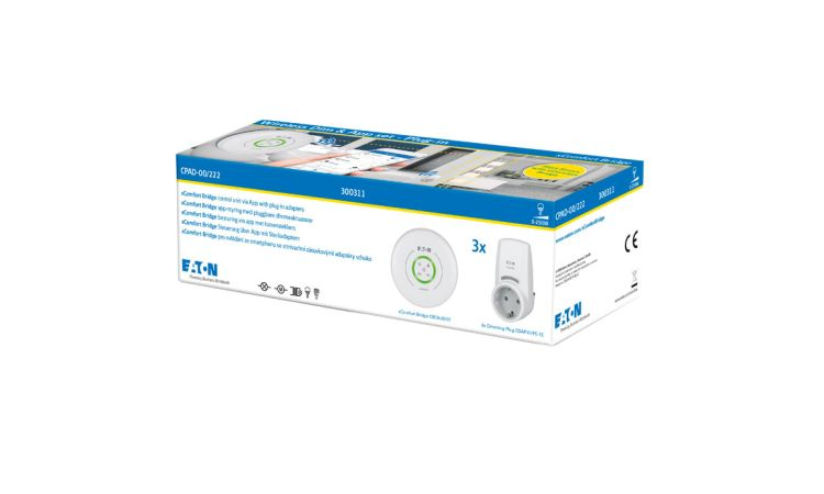 xComfort Wireless Dim and App set - Plug in