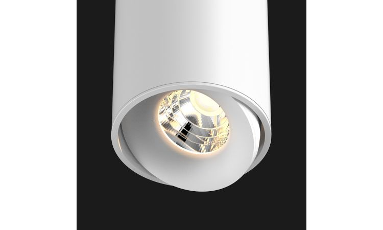 Titan Semi hvit downlight