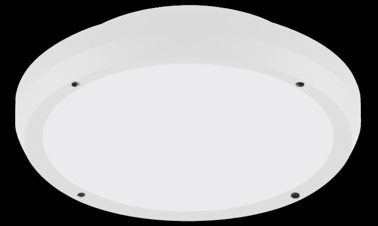 Luno 13W, signal white m/dagslyssensor