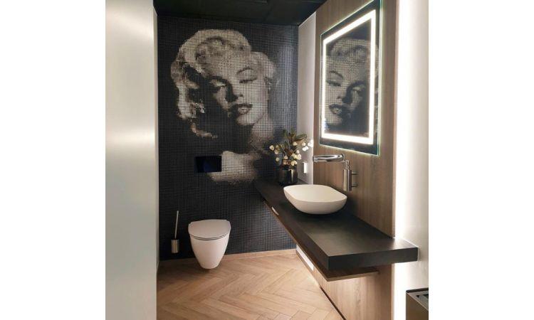 Smart Speil med touch panel