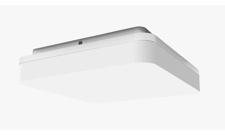 Slice minor square, white - dimmable