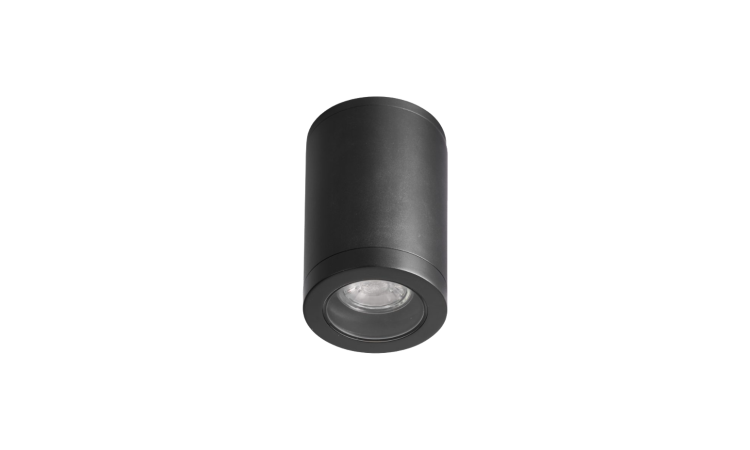 Cylindro ceiling lamp, graphite grey