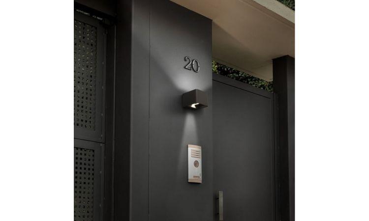 Wilson fasadebelysning grå