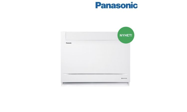 Panasonic varmepumpe Z35UFEAW 6,2 kW gulvmodell