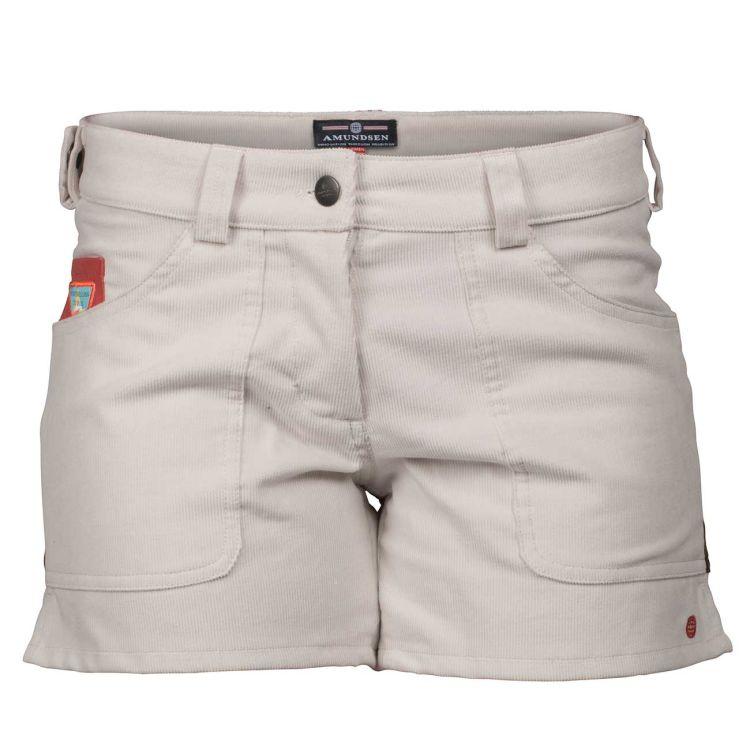 5 Incher concord shorts til dame i fargen natural/cowboy. Produktbildet viser shortsen sett forfra