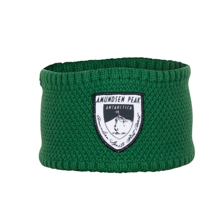 Peak headband i fargen winter green, fra Amundsen Sports